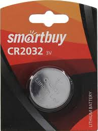 <b>Батарейка CR2032</b> литиевая <b>Smartbuy</b> SBBL-2032-1B 3V 1 шт