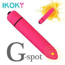 <b>IKOKY 10 Speed</b> Bullet Vibrator Dildo Vibrator for Women G spot ...