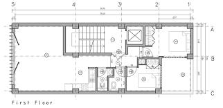 Gallery of Brick Pattern House   Alireza Mashhadmirza   First Floor Plan