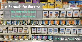 A Formula for Success: The Ultimate Guide to Infant Formulas ...