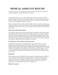resume for medical assistant how to use  seangarrette coentry level medical assistant personal care aides nurse resumes templates and sample   resume for medical assistant