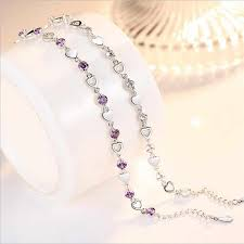 TJP Luxury 925 Sterling Silver Bracelets Jewelry Women Wedding ...