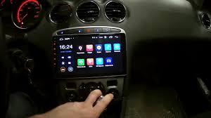 Peugeot 308 - <b>Штатная магнитола Parafar на</b> Android - YouTube