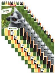 <b>Блокнот</b> на спирали <b>Lemur Style</b> (в плёнке 10 шт.) <b>ErichKrause</b> ...