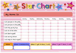 cicitv tiny tots cici tv pink star chart for potty training other accomplishments cicitv me