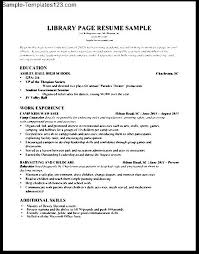 library education section resume sample   sample templateslibrary education section resume sample