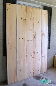 door design wooden frame x diy simple sliding barn doors theturquoisehomecom