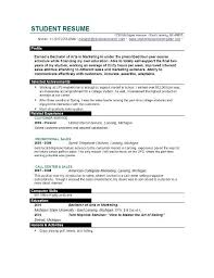 curriculum vitae format for graduate students to apply for a job curriculum resume template for students