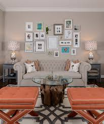 wall collage ideas living room chic family room decorating
