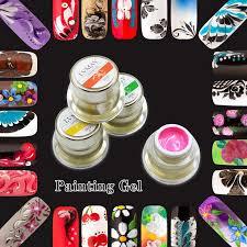 1 Jar <b>Lvmay Brand</b> Green Color UV <b>Paint Gel</b> Nails Polish 12 color ...