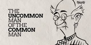 Image result for rk laxman common man