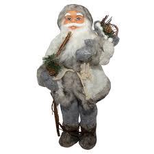 Дед Мороз - лесовик с посохом и подарками, 46 см, (230471 ...
