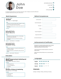 most professional editable resume templates for jobseekers best resume 23