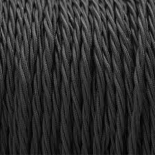 fabric lighting cable black mink interiors black fabric lighting