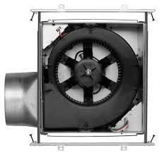 broan ceiling mount heater built fan broan xb single speed ventilation fan  cfm inside view