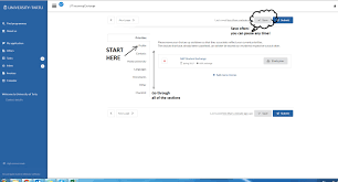 how to fill in an online application in dreamapply university of start filling in the application by providing all the details asked nb the system saves your content from time to time bit is recommended to save it