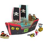 Купить <b>Krooom Игрушки из картона</b>: набор Пиратский корабль ...