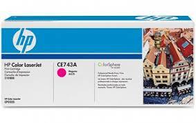 <b>Картридж HP CE743A</b> magenta для Color LJ CP5225 (7300 стр ...