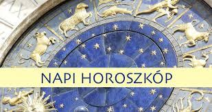 Napi Horoszkóp - Mit jósolnak a csillagok mára!