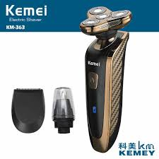 <b>Kemei rechargeable</b> 5D <b>electric shaver</b> washable nose trimmer 5 ...