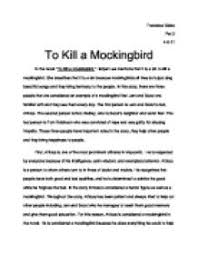 to kill a mockingbird  in the novel to kill a mockingbird  harper    page  zoom in