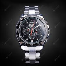 Forsining Men Fashion Stainless Steel <b>Automatic Mechanical</b> ...