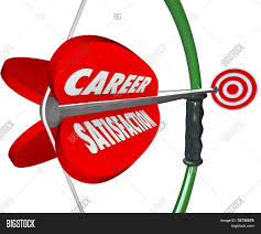 career satisfaction words on a 3d bow and arrow to illustrate job career satisfaction words on a 3d bow and arrow to illustrate job or work happiness