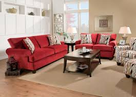 living room marvelous inverness red corded fabric living room set from furniture of america picture of brilliant red living room furniture