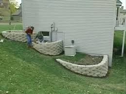 Small Picture How to build a 3 tier retaining walls YouTube