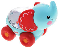 <b>Fisher</b>-<b>Price</b> Развивающая <b>игрушка</b> Слоник с прыгающими ...