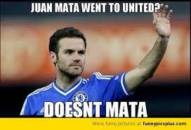 Juan Mata to Man Utd Memes | Funny Pictures via Relatably.com