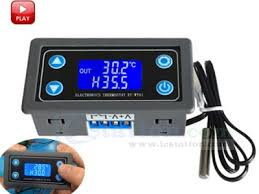 Thermostat Digital <b>Temperature</b> Controller LCD Display NTC 10K ...