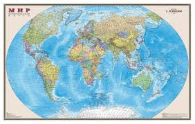 DMB <b>Политическая карта Мир</b> 1:20 (4607048952955) — купить по ...