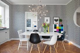 amazing swedish dining room 2013 white dining table uningque hanging lamps and wallpaper amazing hanging dining room