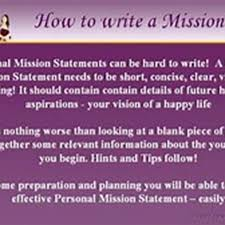 example of a good personal mission statement at essayzz com pl example of a good personalzmission statement preview