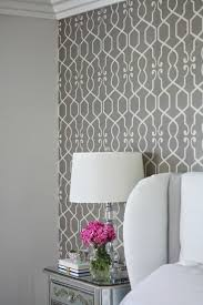 room elegant wallpaper bedroom: i know we see this gray patterned wallpaper everywhere but it doesnt get accent wallpaper bedroomgrey living room