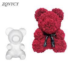 <b>1Pcs Modelling Polystyrene</b> Styrofoam White Foam Bear Mold ...