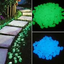 Decorative Stepping Stones <b>500 pcs Glow In</b> The Dark <b>Garden</b> ...