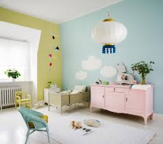 awesome kids baby room nursery with blue green wall paint color excerpt pink and home appealing awesome shabby chic bedroom