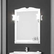 <b>Зеркало Opadiris Тибет 80</b> белое матовое - купить в Москве ...