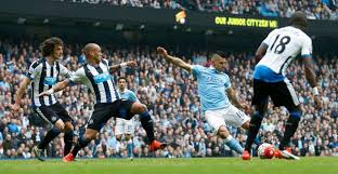 Image result for Newcastle 1 Man City 1