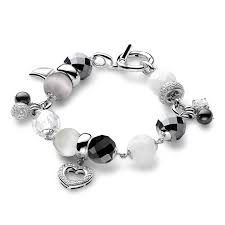 Charm and stone <b>bracelet</b> by <b>Ti Sento</b> available in Kenza Atlantis ...