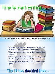 world literature essay ib word limit writinggroups web fc com world literature essay ib word limit