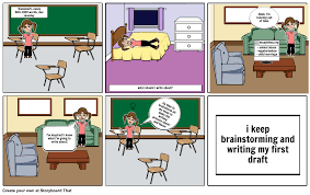 essay writing cartoon essay writing process