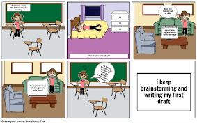essay writing cartoon essay writing process