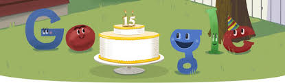 Google's 15th <b>Birthday</b>