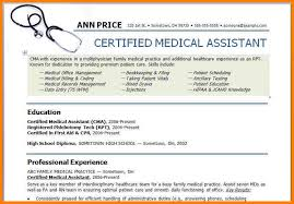 example of medical assistant resume   agreementtemplates infomedical assistant resume examples   medical assistant resume   medical