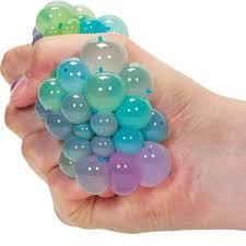 £3.25 GBP - <b>Rainbow</b> Squishy Mesh <b>Ball</b> - 17921 Stress Reliever ...