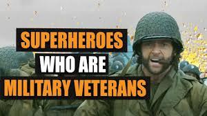 Top 10 <b>Super Heroes</b> who were <b>Military</b> Veterans - YouTube