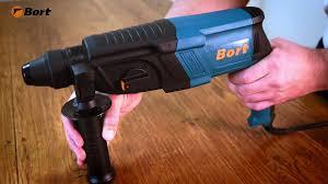 <b>Перфоратор Bort BHD-850X</b> - YouTube